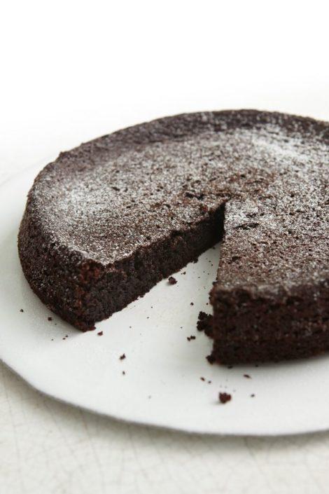 chocolate flourless cake recipe