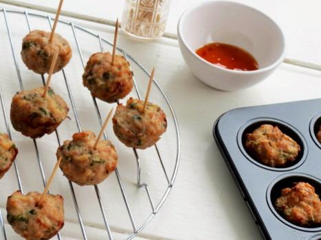 finger food thai chicken balls recipe